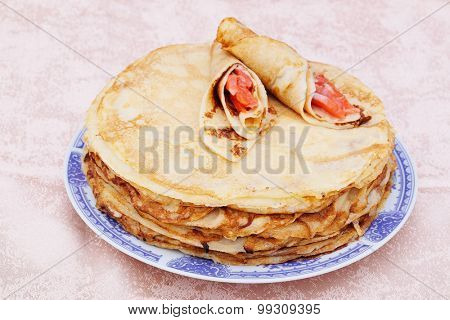 The image of pancakes