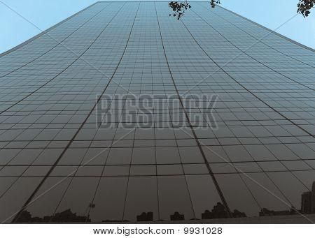 Modern skyscraper in Manhattan