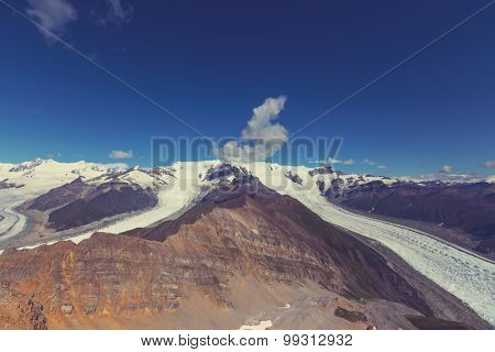 View from Donoho peak, Alaska