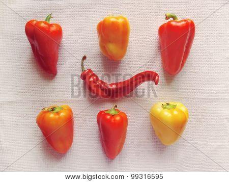 Fresh vegetables - bell peppers