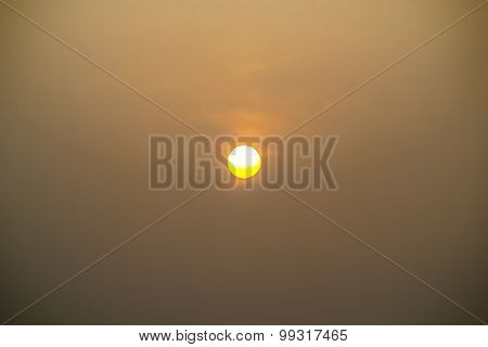 Sunrise On Morning