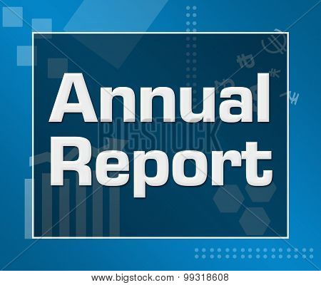 Annual Report Business Theme Background