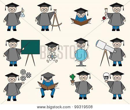 Bachelor Or Education Set