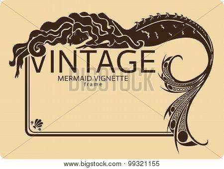 Mermaid Frame