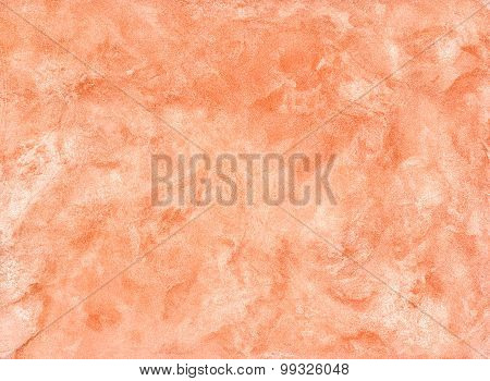 Decorative Plaster Red-orange