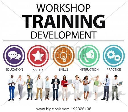 Workshop Training Teaching Development Instruction Concept