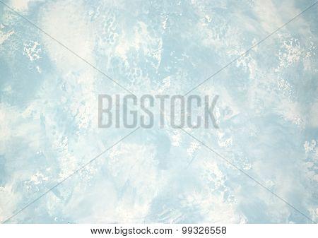 Pattern Plaster White Blue