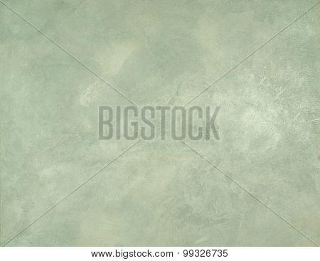 plaster model light green color