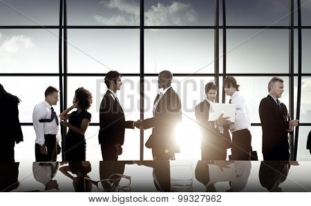Business People Partnership Meeting Discussion Concept