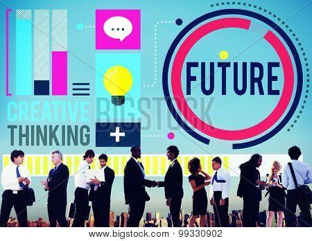 Future Imagine Inspiration Progress Development Concept
