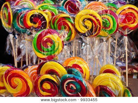 Colourfull Lollipops