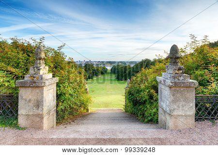 Steps In A Formal Garden