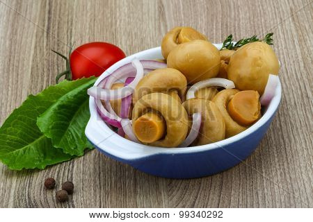 Pickled Champignon