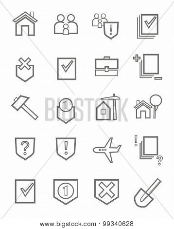 Icons, Legal Services