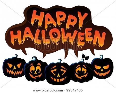 Happy Halloween topic image 7 - eps10 vector illustration.