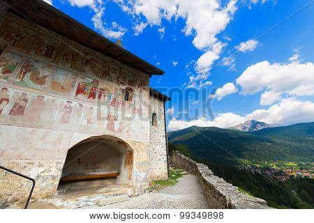 Church Of St. Stephen - Carisolo Trentino Italy