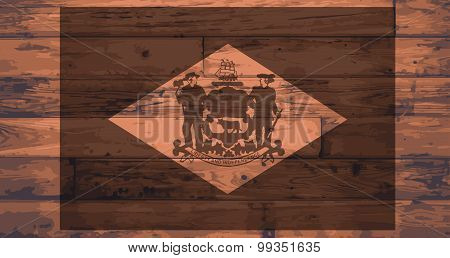 Delaware Flag Brand
