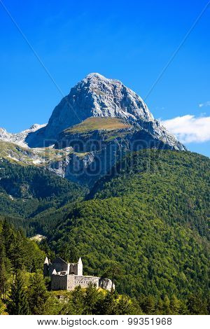 Peak Of Mangart - Border Italy Slovenia