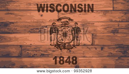 Wisconsin Flag Brand