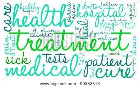 Treatment Word Cloud