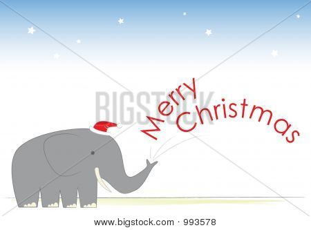 Mr Elephant'S Christmas Cheer