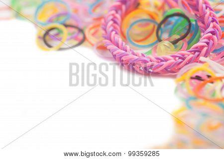 Rainbow Colored Loom