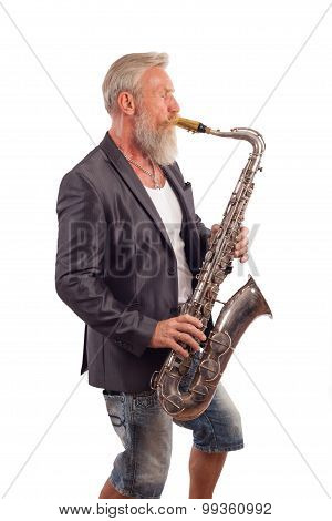 Saxophon Player