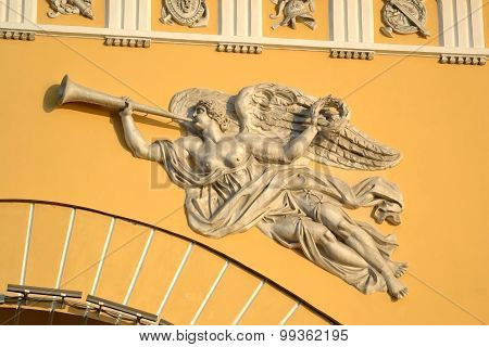 Bas-relief On The Admiralty Building.