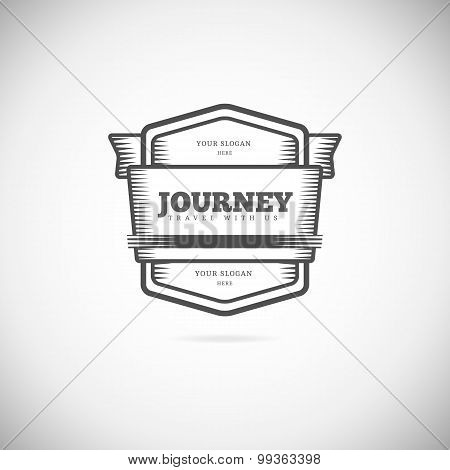 Logo element template