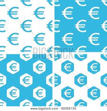 Euro patterns set