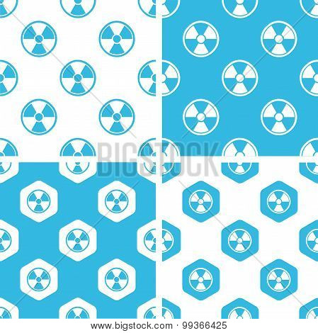 Radiohazard patterns set