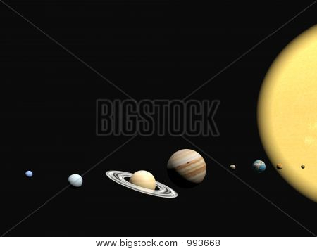 The Solar System, Abstact Presentation.