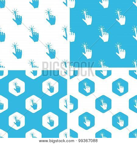 Hand cursor patterns set