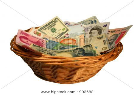 Basket Of Currencies