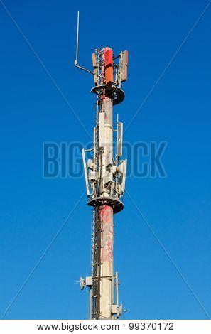 Mobile telecommunications antenna.