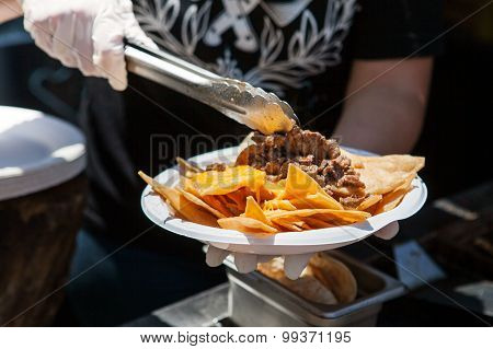 Delicious mexican street food.
