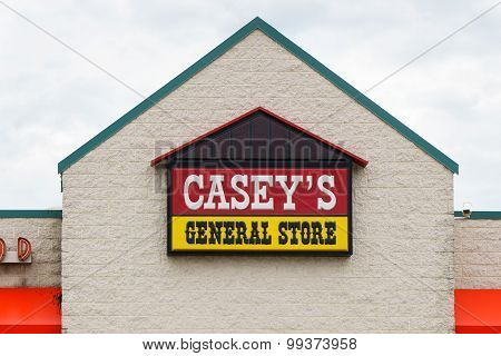 Casey's General Store Exterior And Sign