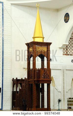 Mimbar of Federal Territory Mosque a.k.a Masjid Wilayah Persekutuan