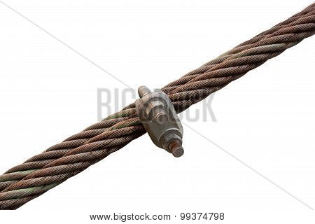 Wire Rope With A Lock Wire Rope.