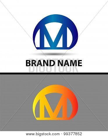 Alphabetical Logo Design Concepts. Letter M
