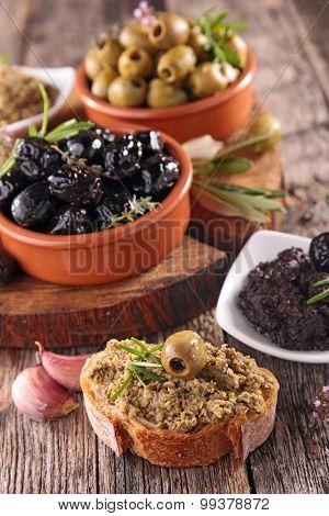 olive and tapenade