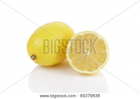 one and a half fresh lemon