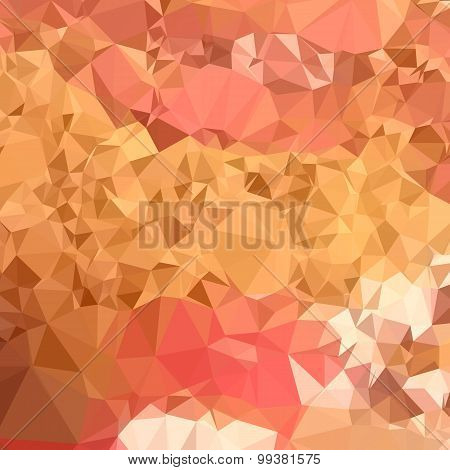Wild Orchid Abstract Low Polygon Background