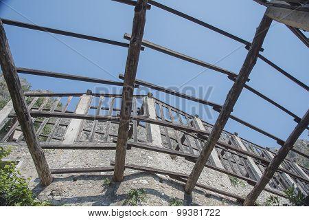 Limone sul Garda wood structure