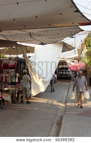 Calis market in turkey