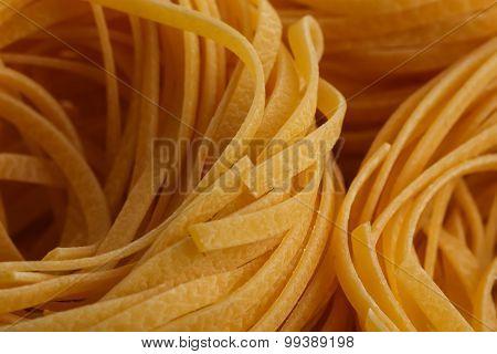 Dried Italian Pasta, Fettuccine Nests