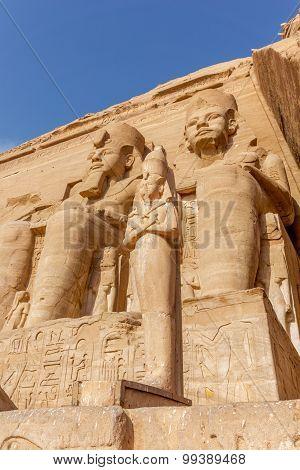 Ramses II Abu Simbel,