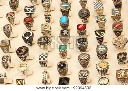 Rings of different designs