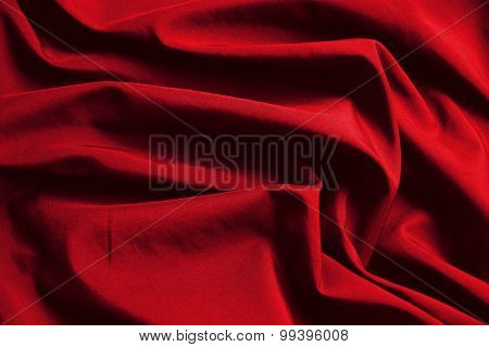 abstract background luxury cloth or liquid wave or wavy folds of red cloth texture