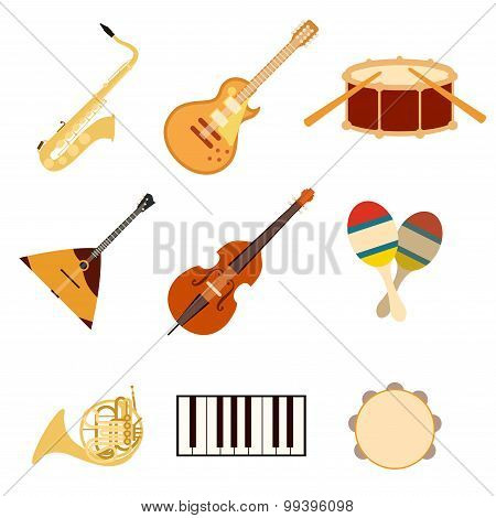 Set of music icons3